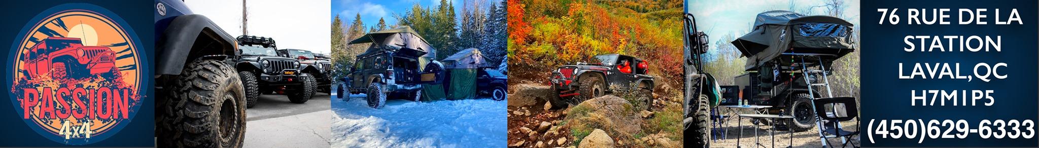 ièces, Accessoires et installations pour Jeep et 4x4